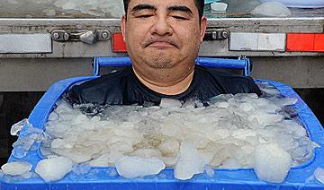 冰桶挑战:标哥也是蛮拼的