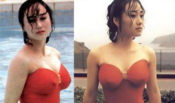李连杰美艳娇妻 连体泳衣难掩好身材
