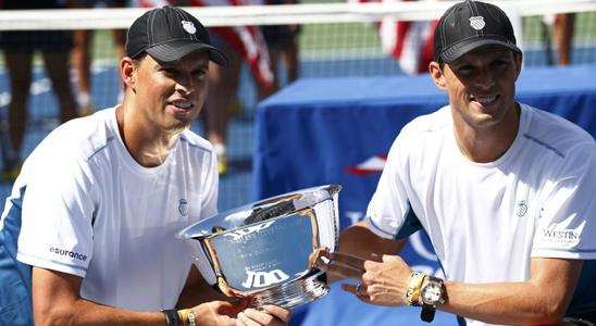 布莱恩兄弟轻松问鼎 5度称霸美网豪取第100冠