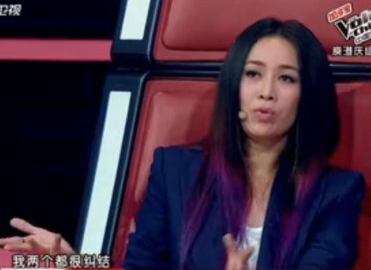 """紫色美发最早是由凯蒂-佩里和凯莉-奥斯本两人引领的。接着,随着这两位娱乐圈""""一姐""""频繁踏上红毯,轻松成为全场焦点,其他明星也按耐不住,纷纷效仿。连大陆一姐那英都按捺不住,在《中国好声音》以紫色挑染发一展风姿,之后更是得到姚晨微博的盛赞。"""