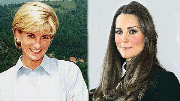 戴安娜王妃与凯特王妃画像-王室为何更喜欢凯特这样的儿媳