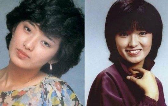 日本早期美女:山口百惠
