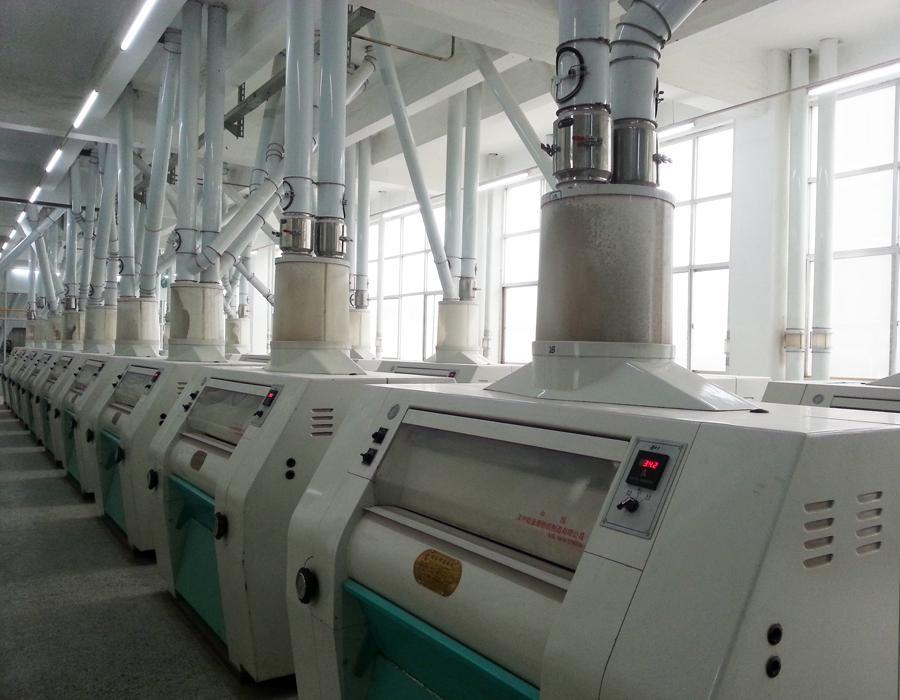 运用plc电脑全程全自动化控制系统,采用先进面粉生产加工工艺,生产