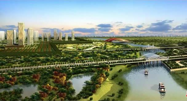 中俄签署高科技园区备忘录 落子西安沣东新城 高清图片