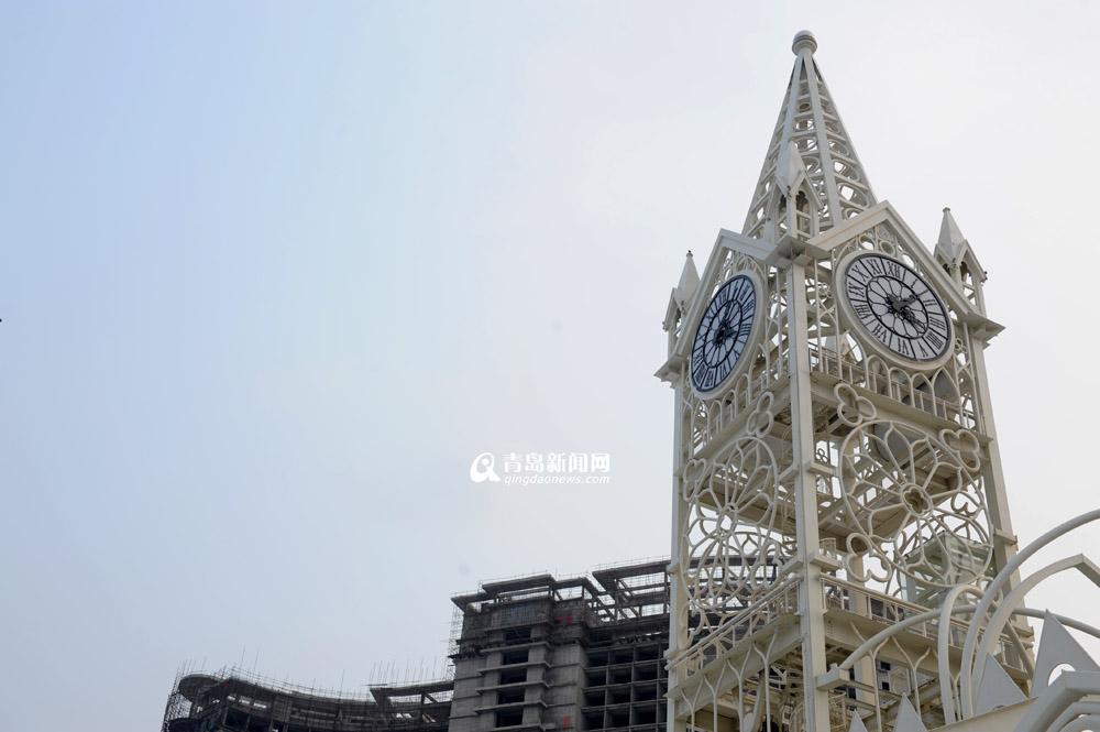 青岛新建哥特式婚礼教堂 成西海岸地标(组图)