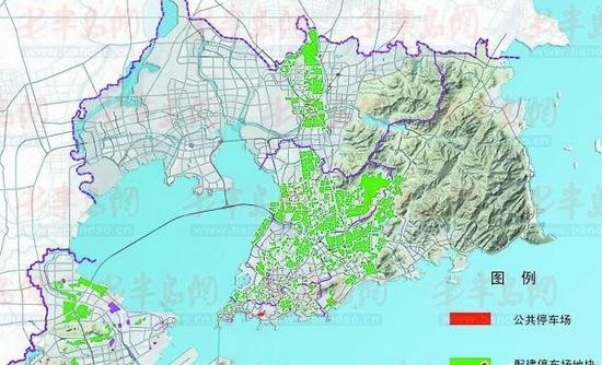 青岛近期建36处停车场 涉及西部老城区及新兴商圈