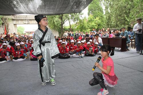 蒙城小学生小学祠里赛寓言故事迎六一作文春节五年级庄子图片