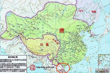 唐朝地图全图大图