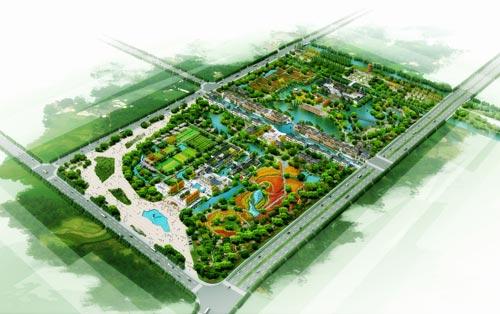 南京凤凰公园平面图