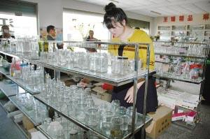 马坡玻璃制品走电商转型升级之路