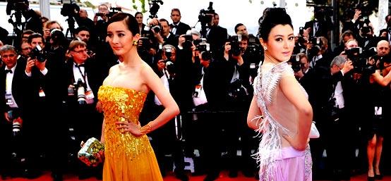 戛纳:《锈与骨》首映 中国影人抢滩红毯
