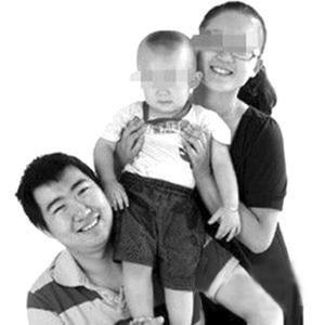 南派三叔与妻子儿子(资料图)