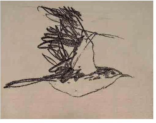 叶永青画作引网友口水 一幅丑鸟拍出25万(图)图片