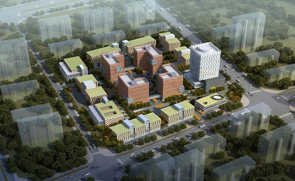 沣西新城全景图