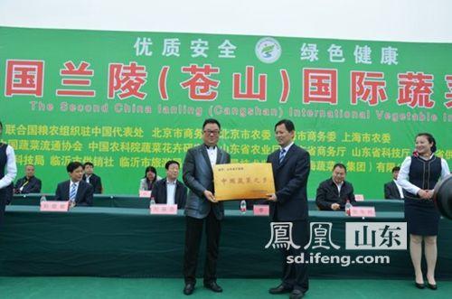 临沂兰陵县第二届菜博今开幕持续一个月字体pa设计图片
