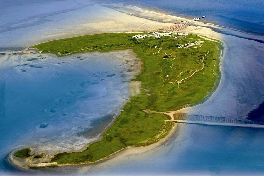 月坨岛全景