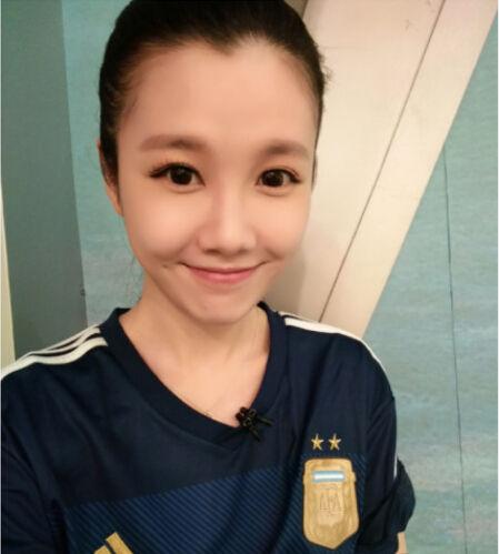 央视美女主播刘语熙发表了自己的世界杯感言