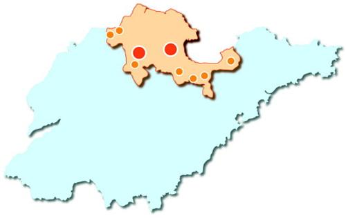 山东17地市gdp_山东17地市地图