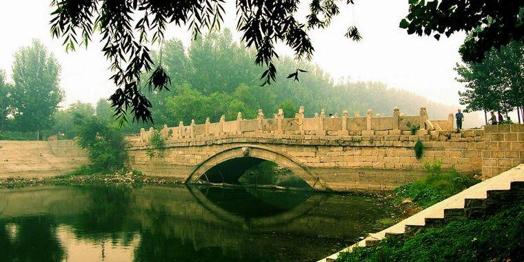 阿胶故里 东阿古城之永济桥