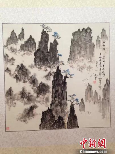 我心中的祖国 刘坚书画展 北京开幕