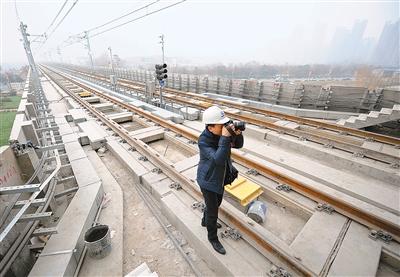 地铁三号线全线轨通 2016年第四季度将试运营图片
