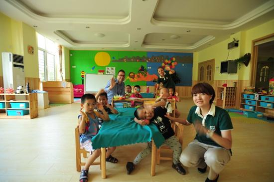幼儿园教学实景