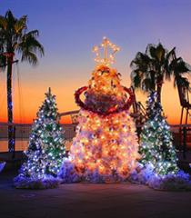 大连:浪漫雪景圣诞