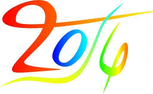 2016世界青年节标志矢量图