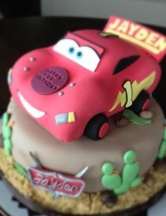 一周岁的生日,晚上,李嘉欣在网上晒出了为儿子特别定制的生日蛋糕,更图片