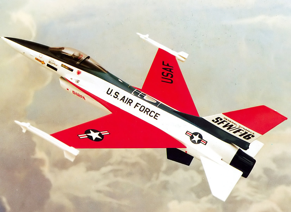 前掠翼技术可使飞机在亚音速飞行时具有非常好的气动性能,从而大大