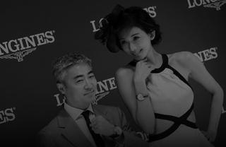 林志玲出席马术活动 白裙黑帽演绎优雅造型