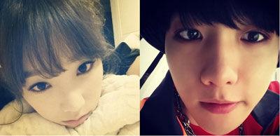 承认少时泰妍与EXO伯贤热恋 已交往4个月