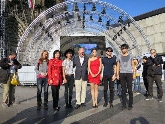 迷笛带领大波浪乐队赴德国科隆演出