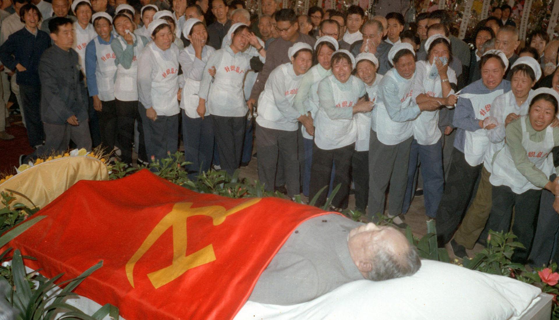 毛泽东/1976年毛泽东逝世...