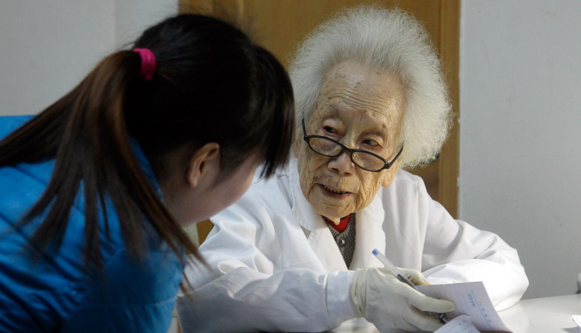 97岁医生
