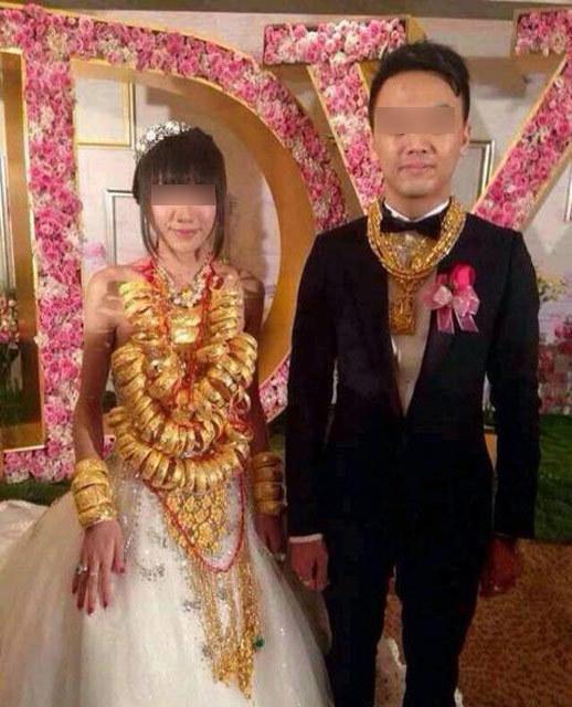 广东再现豪华婚礼 新娘挂70个金手镯 - 骏龙 - 骏龙的博客