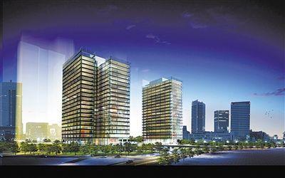 区市风采 > 正文   作为崂山区重点项目之一的青岛金融中心大厦自开工