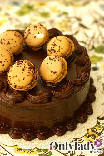 粉嫩的巴黎小圆饼 马卡龙你喜欢吗