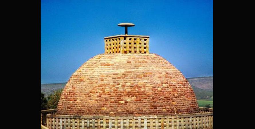 印度塔内部结构图