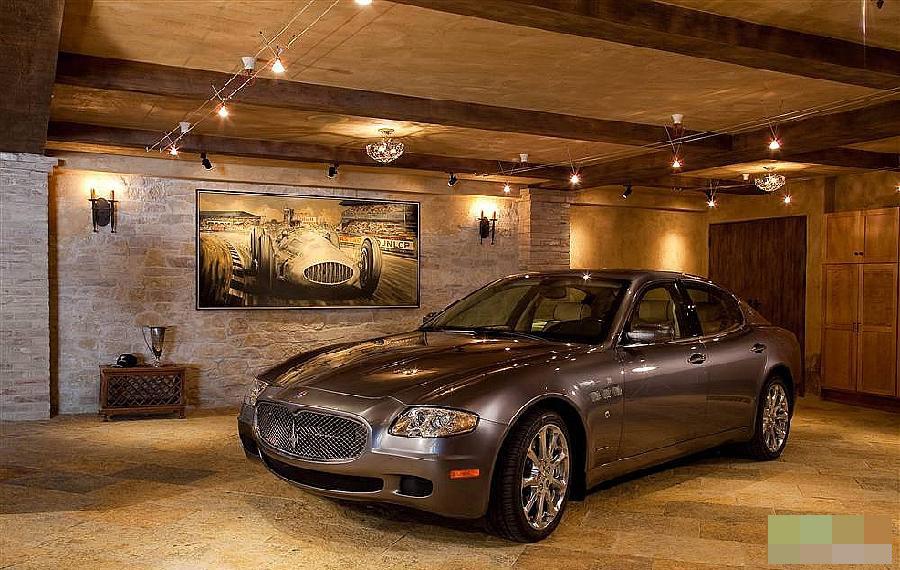 揭秘世界上最美丽的私家车库