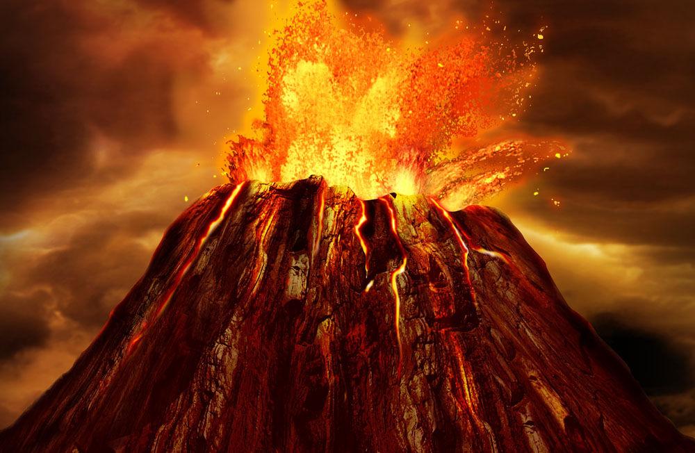什么引起了超级火山喷发