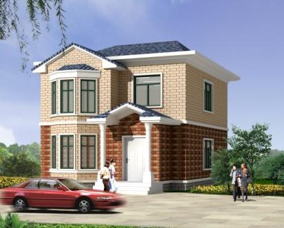 """""""  金先生家的房子是90年代盖的,算是新式建筑了."""