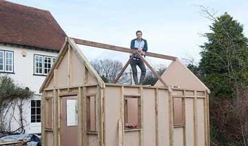 英国推速建屋 盖房似拼积木一周就建好