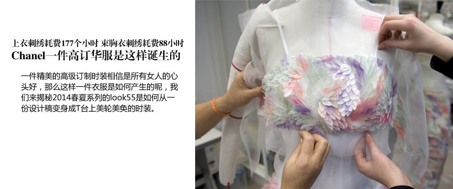 独家策划微观之美: 一件Chanel高订华服的诞生