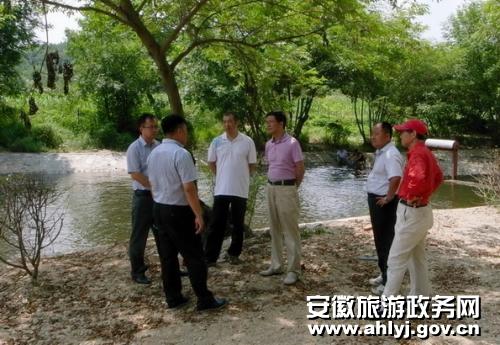 滁州明光市八岭湖旅游度假区一期试营业 半价优惠等你来高清图片