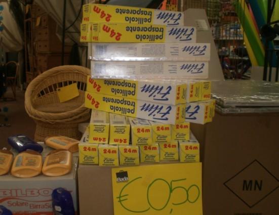 看一欧元在意大利能买啥 - 后悔有药 - 后悔有药的博客