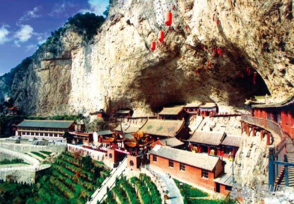 凤凰旅游  绵山风景区峰峦优美,文化深邃,是山西省首批公布的重点风景