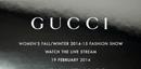 2月19日:GUCCI 2014秋冬发布