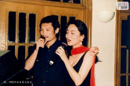会一辈子停留在琼瑶电视剧女主角的位置上.徐克就是因为觉得林青