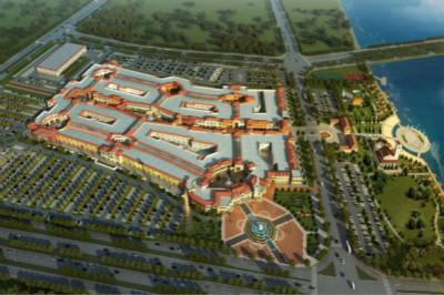 哈尔滨枫叶小镇奥特莱斯将于6月迎客 为东北地区最大高清图片